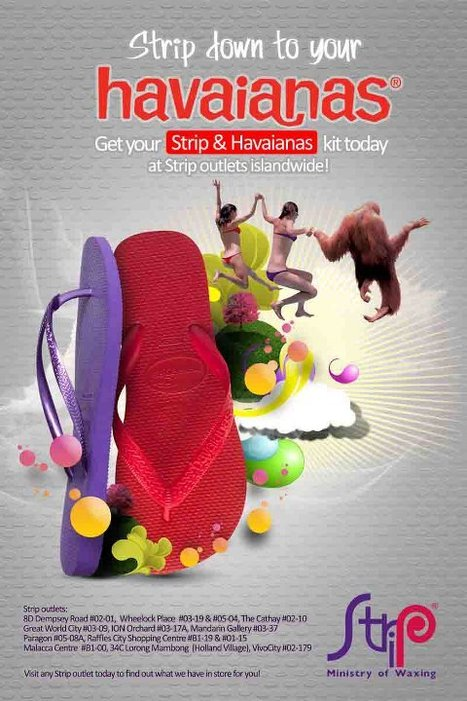 Have you stripped down to your Havaianas yet? | Havaianas | Scoop.it