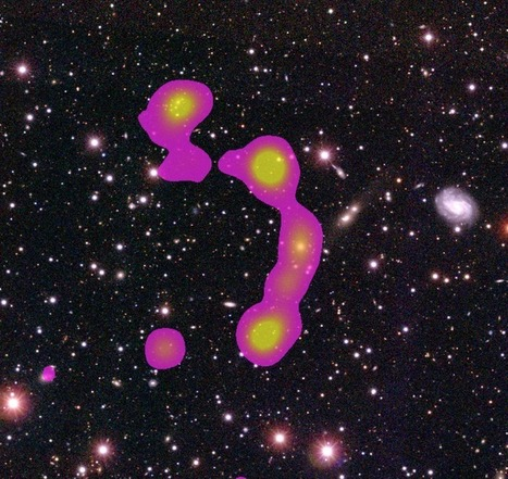 Writing their name in the stars: citizen scientists discover huge galaxy cluster: International Centre for Radio Astronomy Research | Tudo o resto | Scoop.it