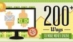 Infographic: 200 Ways To Make Money Online - DesignTAXI.com | How TO Earn Money Online | Scoop.it