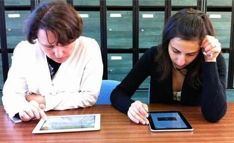 L'apprentissage moins efficace sur smartphone et tablettes tactiles ? | TICE & FLE | Scoop.it
