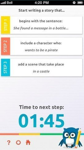 Fun App for Kids Turns Writing Into Interactive Game | Edudemic | Scriveners' Trappings | Scoop.it