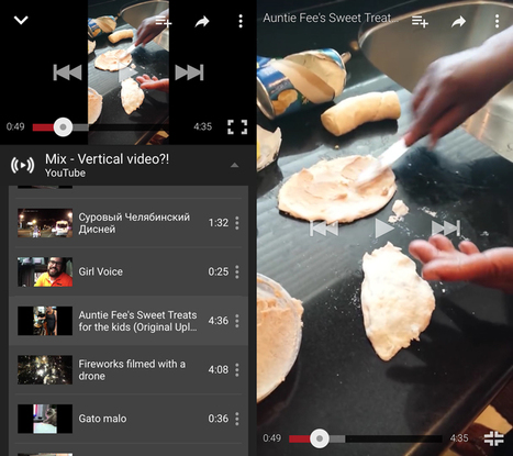 YouTube for iOS now lets you watch vertical videos in full-screen | Technology in Today's Classroom | Scoop.it