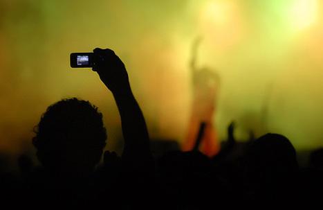 Apple interdira à votre iPhone de filmer un concert | Gotta see it | Scoop.it