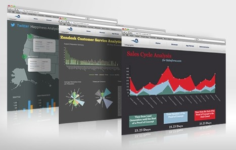Datameer Workgroup Data Visualization - Business Infographics | e-Xploration | Scoop.it