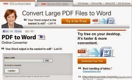 How To Convert pdf To Word ~ Tech News and Much More | Tech News and much more | Scoop.it