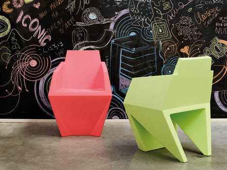 gemma chair + oskar mirrors for B LINE | Immobilier | Scoop.it