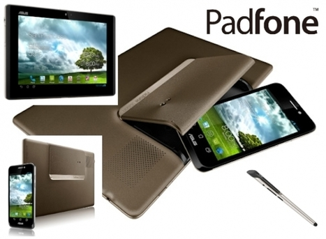 ASUS PadFone three-in-one: jack of all trades, master of none? | Mobile IT | Scoop.it