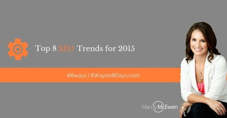 Top 8 SEO Trends and Techniques for 2015 | Webmarketing | Scoop.it