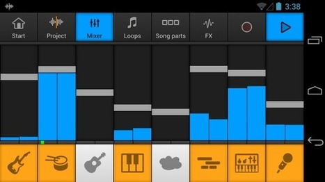 Create Awesome Looping Tunes On Android With Music Maker Jam | tecnoloegy | Scoop.it