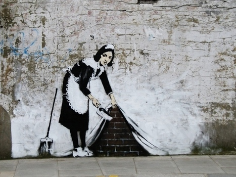 The Report Of Graffiti Artist Banksy's Arrest Is Definitely A Hoax | The History of Art | Scoop.it