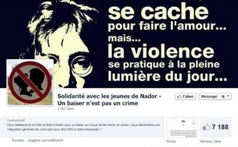 Facebook, arrestation et incarcération pour la photo d'un baiser   Veille Technologique   Scoop.it