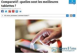 Le site du jour : comment choisir sa tablette ? | Informatique TPE | Scoop.it
