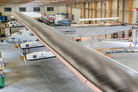 Around the World Without a Drop of Fuel — Solar ... - Singularity Hub | Choices | Scoop.it