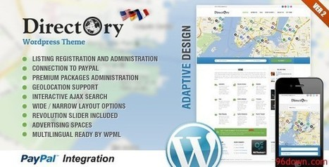 Directory Portal WordPress Theme v2.22 | Download Free Nulled Scripts | fvsdegfe | Scoop.it