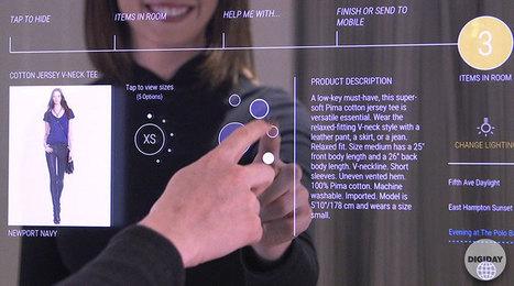 Inside Ralph Lauren's Connected Fitting Rooms I Digiday   DIGITAL IN RETAIL   Scoop.it