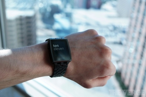 The striking Pebble Steel could change your mind about smartwatches   TCEA 2014 -  Tools and Gadgets   Scoop.it
