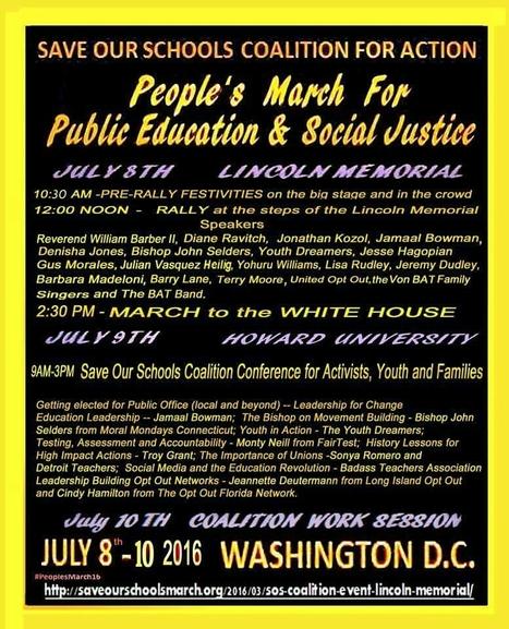 Mentre Obama estigui per aquí a Washington DC hi haurà moguda.. #PerlEducacióPública via @BadassTeachersA | Educació de Qualitat i TICs | Scoop.it