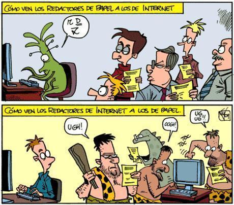 Ciberperiodismo: ¿un nuevo medio? | La comunicación en el mundo actual | Scoop.it