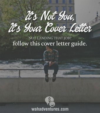 Is Your Cover Letter Ruining Your Job Search? WAHA | Career Empowerment | Scoop.it