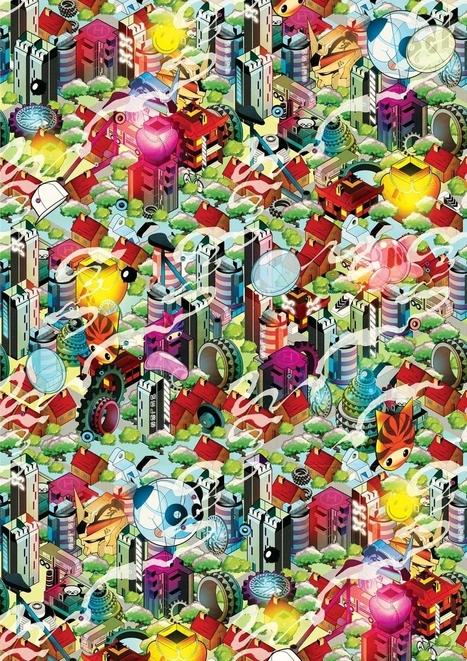 Tutorial Illustrator para crear una ciudad isometrica 3D/2D | Trabajo por proyectos | Scoop.it