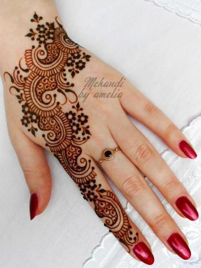 Arabic Mehndi Designs 2016 For Wedding | styleuneed | Scoop.it