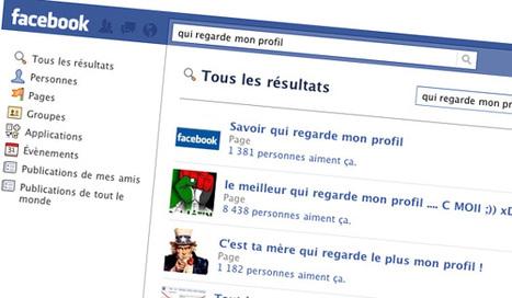 Facebook : méfiez-vous de 'voir qui consulte votre profil'   Dangers du Web   Scoop.it