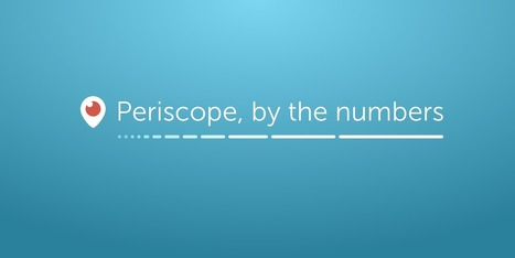 Periscope, by the Numbers — Medium | I work on the Interwebs | Scoop.it