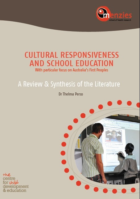 CULTURAL RESPONSIVENESS AND SCHOOL EDUCATION With particular focus on Australia's First People. Dr Thelma Perso | Aboriginal and Torres Strait Islander histories and cultures | Scoop.it