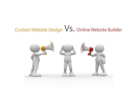 Custom Website Design Vs. Online Website Builder | Etrafficwebdesign | Web Design Service | Scoop.it