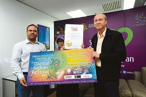 Man honoured for getting 600 organ donor pledges - The Malay Mail Online   Organ Donation   Scoop.it