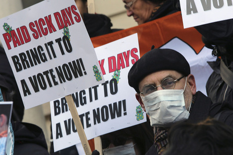 Small businesses divided over paid-sick-time laws - Columbus Dispatch   Triangle Business Marketing   Scoop.it