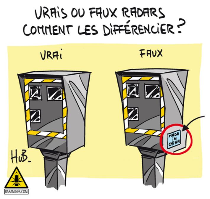 Vrais ou faux radars, comment les identifier ? | Baie d'humour | Scoop.it