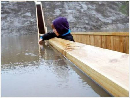 """Moses Bridge"" - the Bridge below the water surface ~ Jaho Jalal 