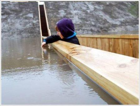 """Moses Bridge"" - the Bridge below the water surface ~ Jaho Jalal | 建築 | Scoop.it"