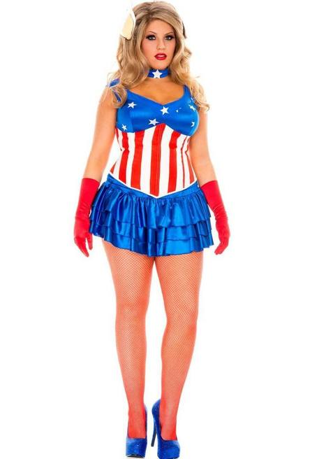 American Super Hero Costume - Plus size costume | legsappeal | Scoop.it