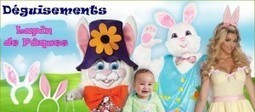 Déguisement lapin pour la fête de Pâques | Blog RueDeLaFete | déguisement : idées et tendances | Scoop.it