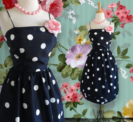 Vintage Short Jessica Howard 1980s Short Dress. Silk Party Dress.  Size 12 | DustyDesert vintage | Scoop.it