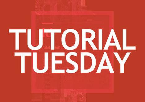 Tutorial Tuesdays – Adobe InDesign Tutorials for Beginners | de todo un poco | Scoop.it