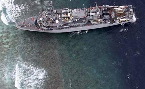 Digital Map Error May Have Led To Minesweeper Grounding | AP HUMAN GEOGRAPHY DIGITAL  STUDY: MIKE BUSARELLO | Scoop.it