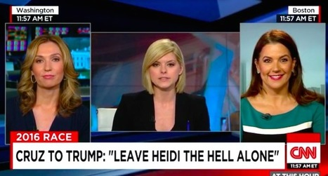 WATCH: Trump supporter stuns Cruz ally on CNN by naming her as one of Ted Cruz's alleged mistresses | Culture, Humour, the Brave, the Foolhardy and the Damned | Scoop.it