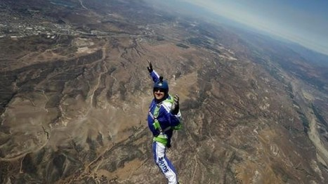 Skydiver makes final preparations to jump without parachute | LibertyE Global Renaissance | Scoop.it