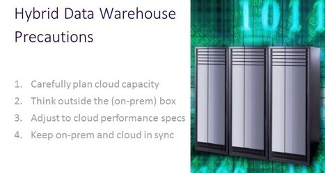 Dos and Don'ts in Hybrid Cloud Data Warehouse Deployment | Business Intelligence & Analytics | Scoop.it