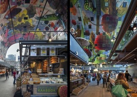 Rotterdam's New Farmers Market Looks Like the Inside of a Vitamix | Inspired By Design | Scoop.it