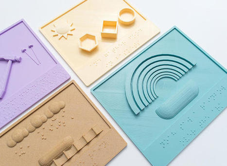 Anyone Can 3-D Print These Beautiful Storybooks For Visually Impaired Kids | LibraryLinks LiensBiblio | Scoop.it