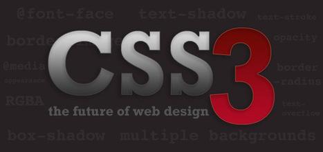 20 Useful Fresh CSS3 Tutorials for Web Designers   Design & Prog   Scoop.it