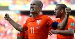 Netherlands vs Chile 2014 World Cup Highlights Goals GIFs Photos   Fifa World Cup 2014 Brazil   Scoop.it