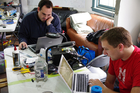 What Are Hacker / Maker Spaces & Where Are They In Australia? -Rambling Thoughts Blog | Makerspaces | Scoop.it
