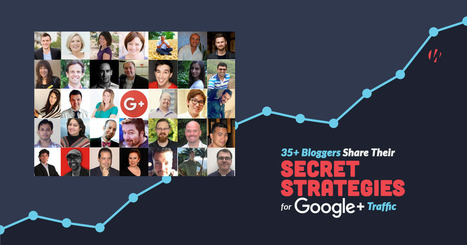 35+ Bloggers Share Their Top Strategies for Google+ Traffic | Social Media | Scoop.it