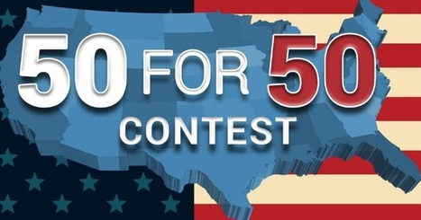 Free Technology for Teachers: 50 for 50 Writing Contest for Students | Digital Storytelling Tools, Apps and Ideas | Scoop.it