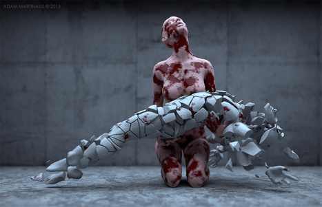 Digital Artworks by Adam Martinakis Explore Photo Realistic Surrealism | Culture and Fun - Art | Scoop.it